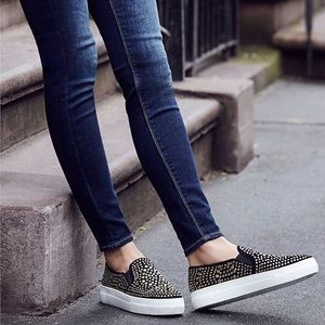 NWT- Vince Camuto studded platform sneakers